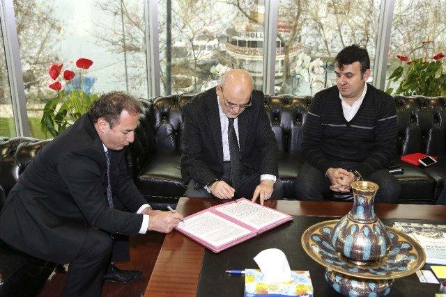 Kanal Riva Projesinde İmzalar Atıldı.